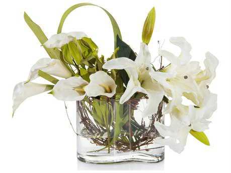 John Richard Cozy Lilies Floral Arrangement JRJRB3609W