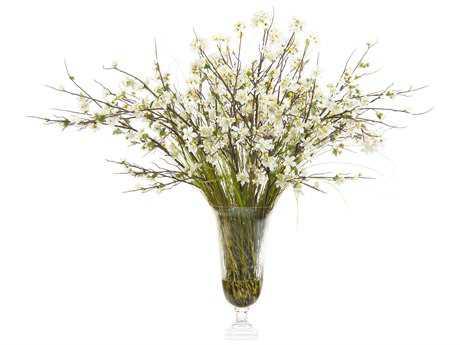 John Richard White Blossoms Floral Arrangement JRJRB3736W