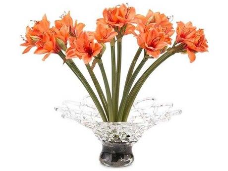 John Richard Crystal Mango Floral Arrangement JRJRB3951W