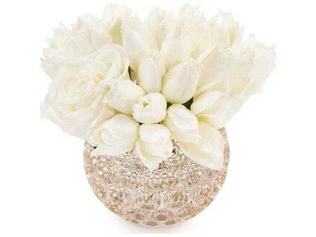 John Richard Crystal Thumbprints Floral Arrangement JRJRB3957W