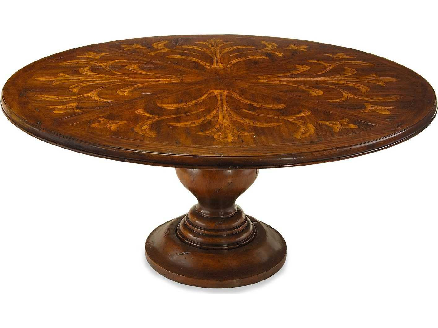 John Richard Tuscan Villa 72 Round Dining Table