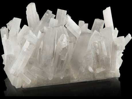 John Richard Selenite Rectangular Vase JRJRA10028