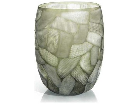 John Richard Random Cut Etched Vase II JRJRA10711