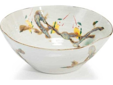 John Richard Twigs and Teal III Decorative Bowl JRJRA10619