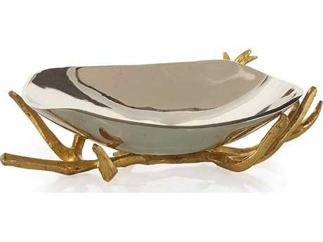 John Richard Bowl On Gold Branch JRJRA9028