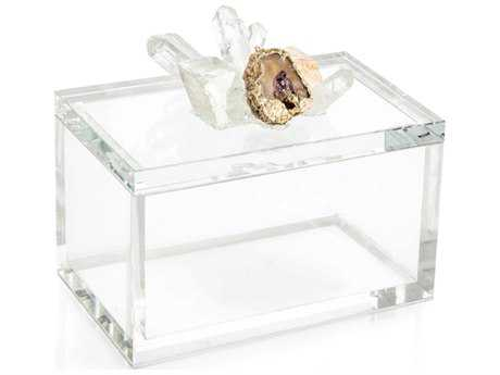 John Richard Crystal & Lemon Quartz Jewelry Box JRJRA10152