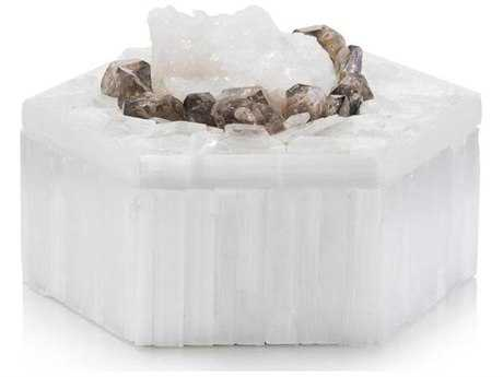 John Richard Selenite And Smokey Quartz Box JRJRA10458
