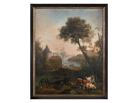 John Richard The Castle's Pasture Painting JRGBG0884