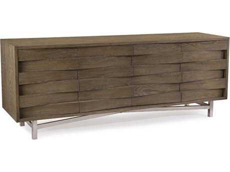 John Richard Luxe Wedge 89 x 22 Gray Sideboard JREUR040224