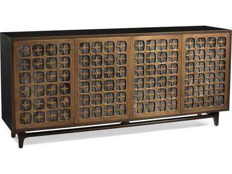 John Richard Astral Mayan Bronze 85'' x 20'' Four-Door Buffet JREUR040378