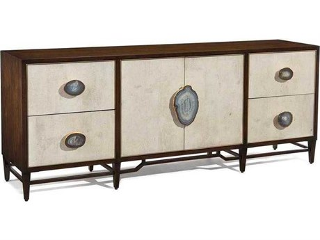 John Richard Mark McDowell Mercia Black Walnut Two-Door / Four-Drawer 87'' x 21'' Credenza JREUR040453