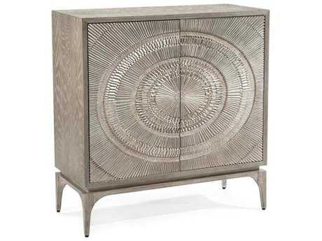 John Richard Cosmos Gray Oak 41.75'' x 18.25'' Two-Door Accent Cabinet JREUR040413