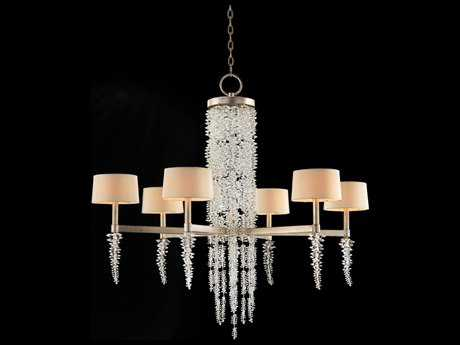 John Richard Mark Mcdowell Six-Light 43'' Wide Crystal Large Chandelier