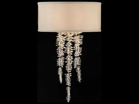 John Richard Cascading Crystal Waterfall Pendant Wall Sconce JRAJC8879
