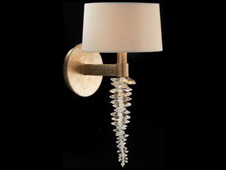 John Richard Cascading Crystal Waterfall Single Light Wall Sconce JRAJC8880
