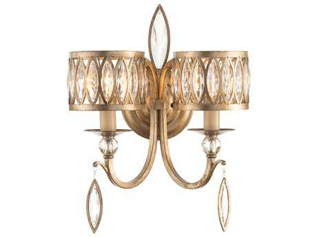 John Richard Mark Mcdowell Crystal Wall Sconce
