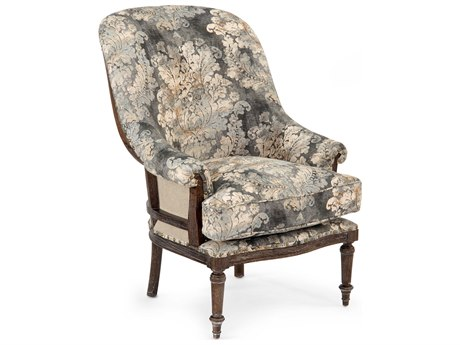 John Richard Fanback Exposed Wood Chair JRAMF13632049AS