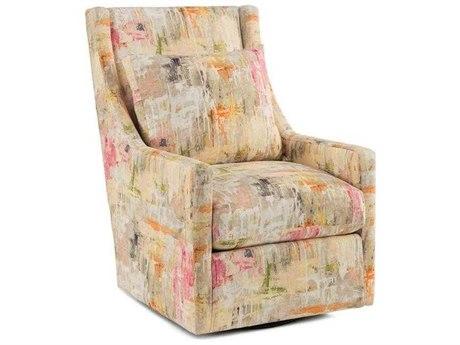 John Richard High Back Swivel Glider Chair JRAMQ11532126AS
