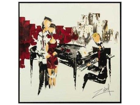 John Richard Zabel's Music In Red