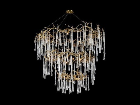 John Richard Branched Crystal Twenty-Light Chandelier JRAJC9057