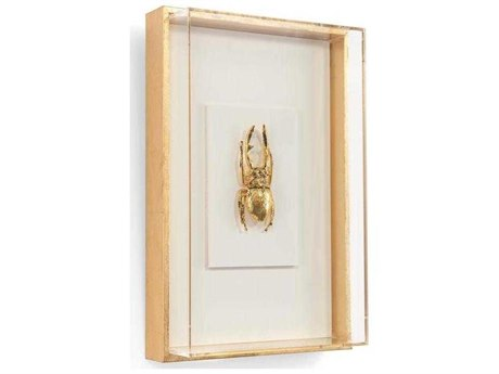 John Richard Encased Insect In Gold Ii JRGBG1587B