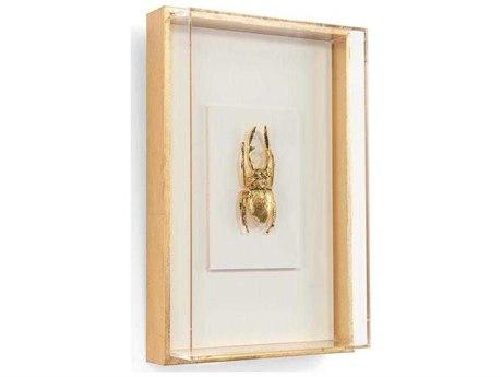 John Richard Encased Insect In Gold Iii JRGBG1587C