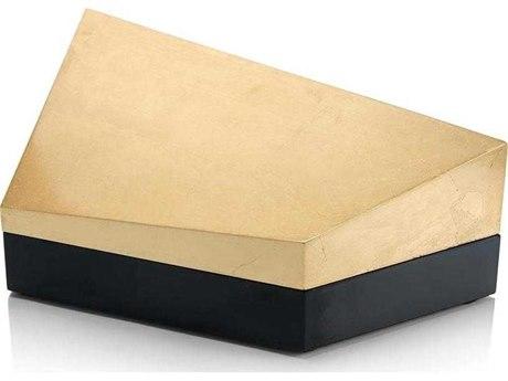 John Richard Cubist Box Gold & Black Ii JRJRA11041