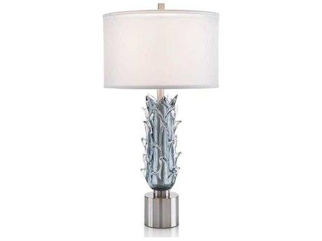 John Richard Sculpted Glass Succulent Table Lamp JRJRL9706