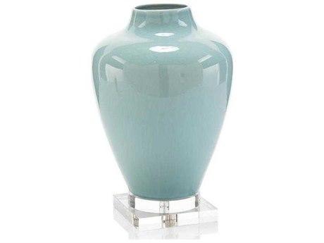 John Richard Soft Blue Ceramic Vase JRJRA11164