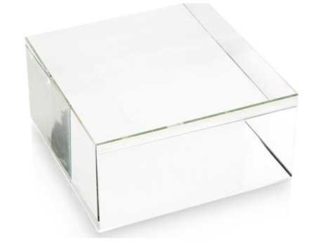 John Richard Large Left-Facing Crystal Display Block Storage Case JRJRA9496