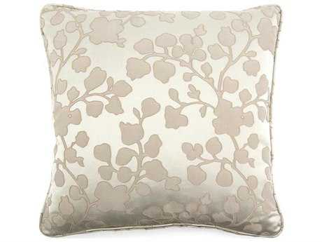 John Richard Floral Taupe 20 Pillow JRAMP1033A
