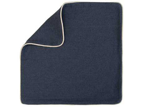 John Richard 22'' X 22'' Blue & Neutral Pillow JRAMP77