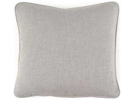 John Richard Solid Grey 22' Pillow JRAMP1039B