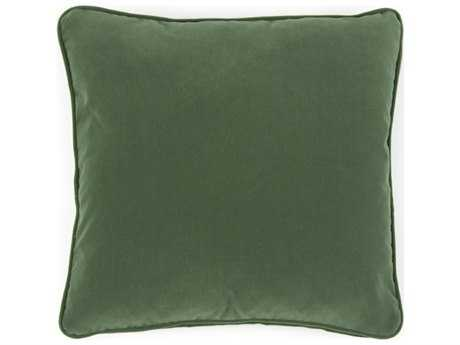 John Richard 20'' X 20'' Solid Green Pillow JRAMP1017A