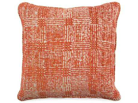 John Richard Abstract Orange 22 Pillow JRAMP2053B