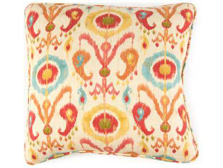 John Richard 20'' X 20'' Ikat Multi Pillow JRAMP2010A