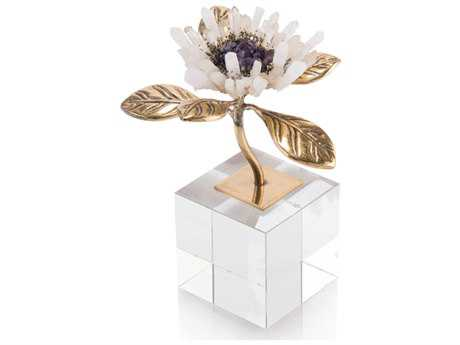 John Richard Single Crystal Bloom Sculpture JRJRA10092