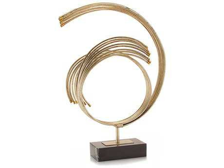 John Richard Orbital Rays Decorative Sculpture