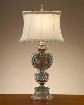 John Richard Lamps French Beige Table Lamp