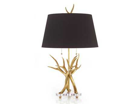 John Richard Lamps Black Table Lamp