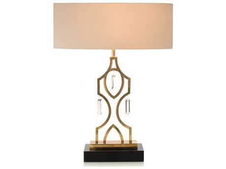 John Richard Navajo Honey Brass Table Lamp JRJRL8944