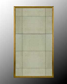 John Richard Round Eglomise Mirror with Gold Frame JRJRM0109