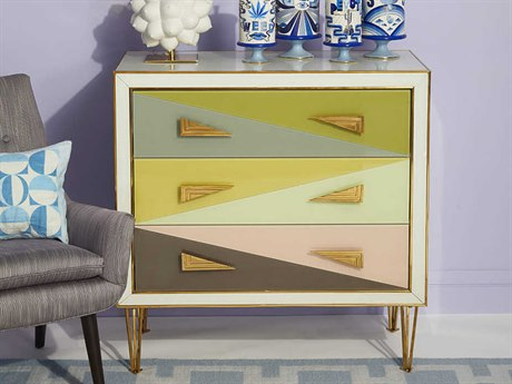 Jonathan Adler Harlequin Multi Accent Chest