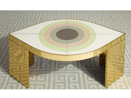 Jonathan Adler Harlequin Multi 42'' Wide Coffee Table JON28556