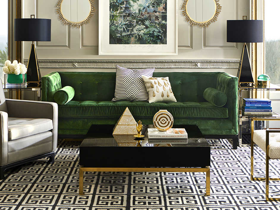 Jonathan Adler Lampert Venice Emerald
