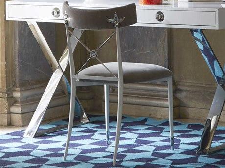 Jonathan Adler Rider Rialto Smoke Side Dining Chair