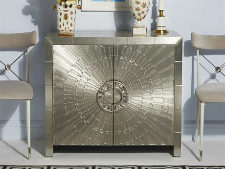 Jonathan Adler Talitha Nickel Accent Chest