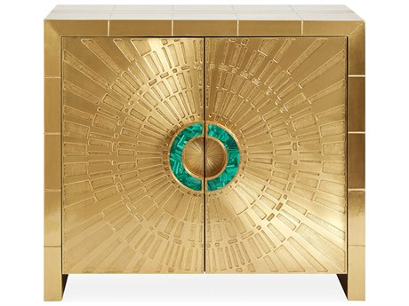 Jonathan Adler Talitha Brass Accent Chest
