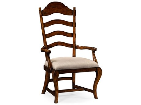 Jonathan Charles Artisan collection Rustic Walnut Finish Accent Arm Chair JC495293ACRWLF001