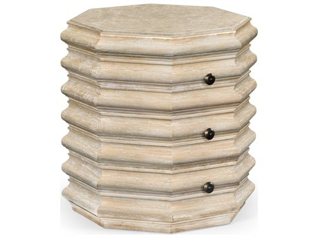 Jonathan Charles Artisan collection Limed Acacia End Table JC495319LMA